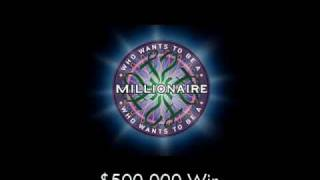 $500,000 Win - Who Wants to Be a Millionaire?