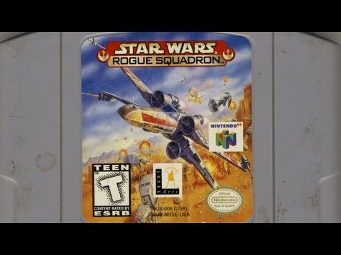 Classic Game Room - STAR WARS: ROGUE SQUADRON review for N64