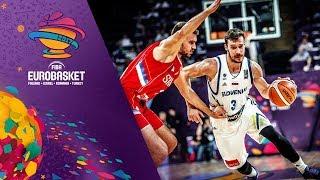 Slovenia v Serbia - Highlights - Final - FIBA EuroBasket 2017
