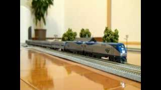 Kato Nscale Amtrak  Intercity Express Phase Ⅵ  with DCC Sounds Locos