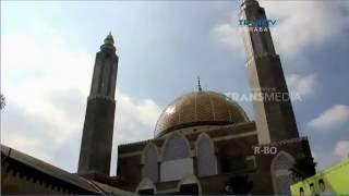 Indahnya Masjid Berarsitektur Turki di Jombang
