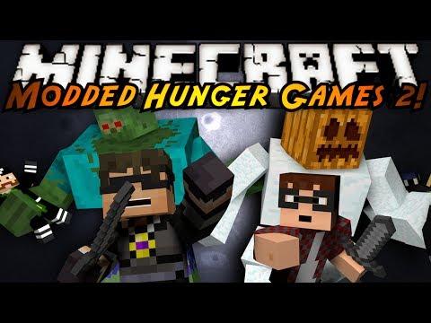 Minecraft MODDED HUNGER GAMES : TEAM MATCH!