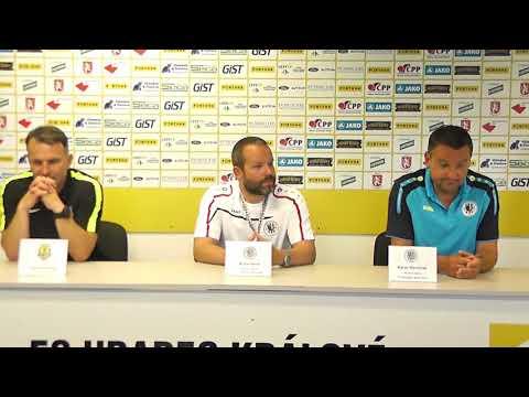 Tisková konference po utkání FC Hradec Králové - SFC Opava