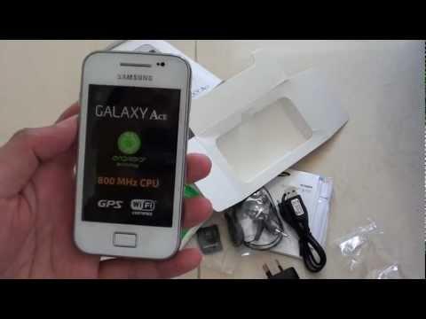 Samsung Galaxy Ace: How to Insert SIM Card