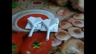 Оригами супер мега танк