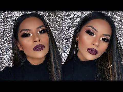 Full Face Drugstore Holiday Makeup Tutorial | Sarahy Delarosa