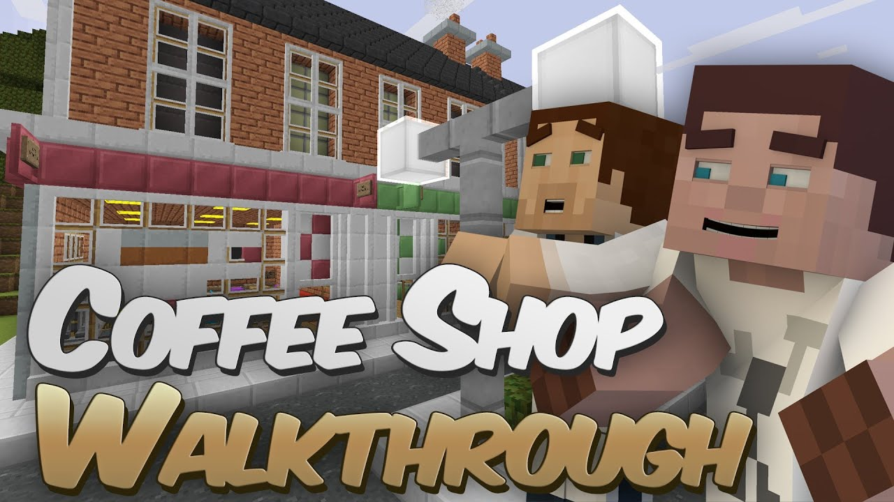 How To Build A Coffee In Minecraft