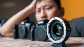 Canon M50 + Speed Booster = Budget Full Frame EOS R !?!?