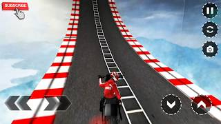Impossible bike stunts & tracks 3d Full HD android gameplay #6 | by wow kidz gamedy