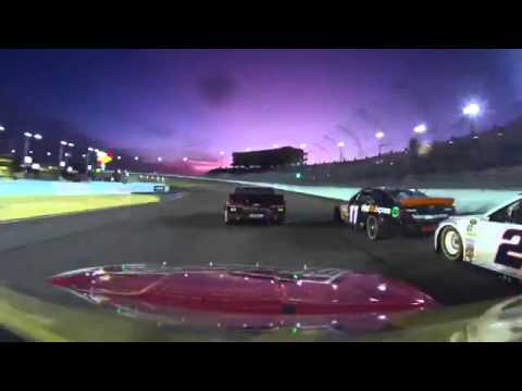 Kevin Harvick 2014 Ford EcoBoost 400 onboard last half of race from Homestead-Miami Speedway