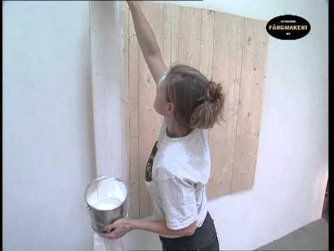 White Stain Varnish Panelling Indoors Www Ottossonfarg