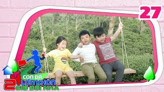 24 HOURS KIDS TRAVELLING|#27 FULL|Truong Giang's dear student-Tam Men becomes a cowboy on highland