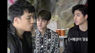 Kpop news _iKON Works At BIGBANG's Seungri's Ramen Shop For A Day