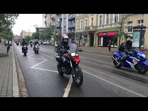 Motorowa Parada Na Gdańskiej W Bydgoszczy