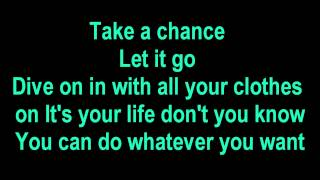 Shawn Desman - Too Young to Care Lyrics