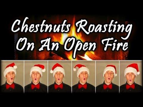 Chestnuts Roasting On An Open Fire (The Christmas Song) - One Man Barbershop Choir - Julien Neel