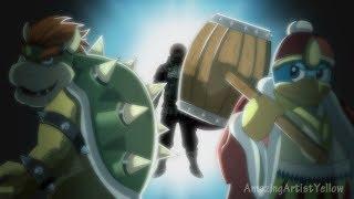 Super Smash Bros x 進撃の巨人(Attack on Titan) Opening 2 【Hand-Drawn】