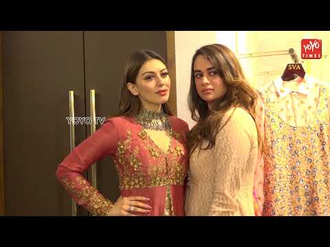 Hansika Motwani Full Interview At Launch Of New Fashion Designer Store SVA Store | YOYO Times