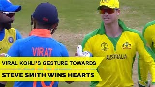 Virat Kohli's Gesture Towards Steve Smith Wins Hearts | IND vs AUS Highlights