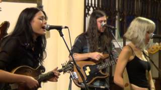 Larkin Poe Perform Mad As A Hatter At Wigan Parish Church 7th August 2013