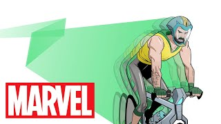 Give Bike Man a Chance! | Marvel Make Me a Hero