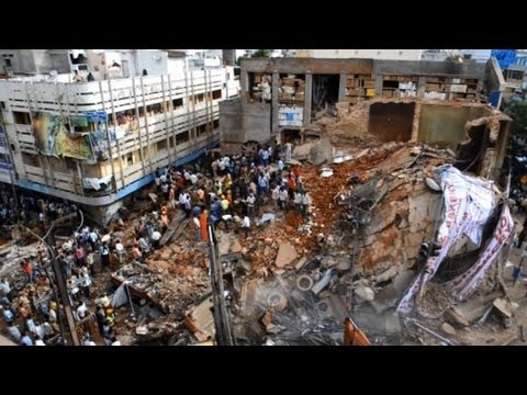 Seven killed in India building collapse: police