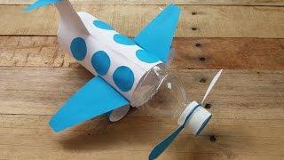 How to make airplane from Bottle |Cara Membuat Pesawat Terbang dari Botol Bekas