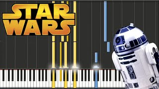 Star Wars - John Williams - Victory Celebration Theme | Piano Tutorial