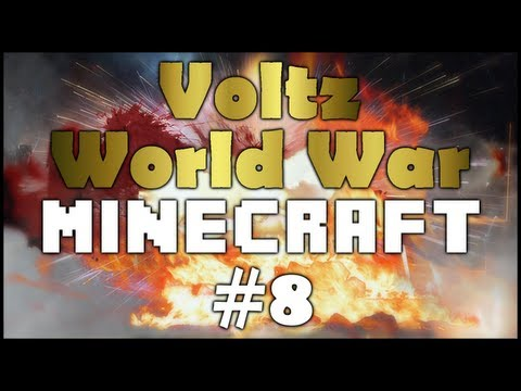 Voltz World War Minecraft Showing Off Sub Houses and Updates EP8