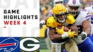 Bills vs. Packers Week 4 Highlights | NFL 2018