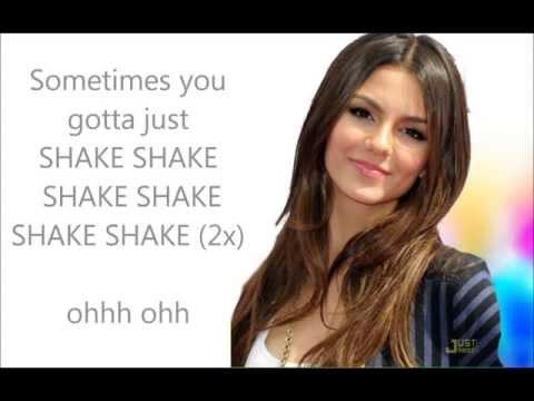 lyrics Victoria Justice- Shake