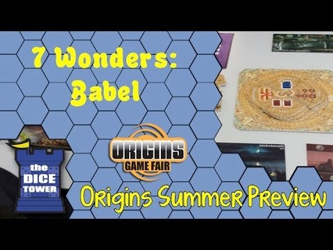 Origins Summer Preview: 7 Wonders: Babel
