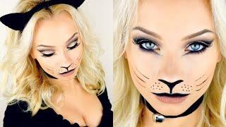 Cat with makeup