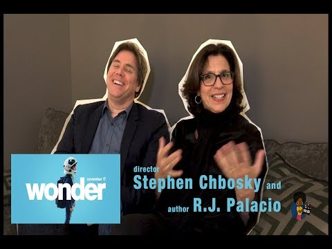 WONDER - R.J. Palacio & Stephen Chbosky And Coming Of Age Movies