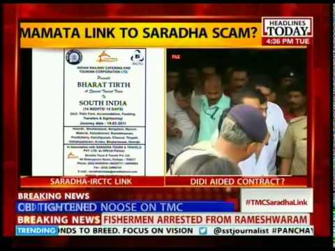 Didi favoured Saradha as rail minister?