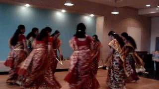 vetti Valapu kolattam by Geneval Girls in Ugadi 2010 celebrations