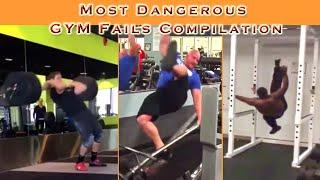 Most Dangerous Gym / workouts fails compilation of 2018