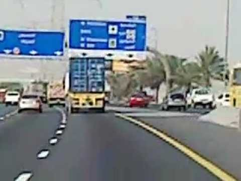 Light to Moderate Traffic in Dubai