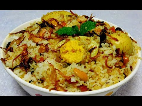Egg Dum Biryani Recipe | How To Make Easy Egg Dum Biryani At Home