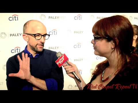 Jim Rash at #PaleyFest's