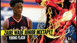 Zaire Wade Is YOUNG FLASH! Carrying On The WADE LEGACY! OFFICIAL MIXTAPE!!