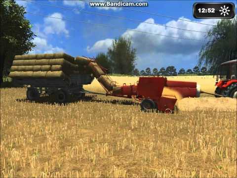 Symulator Farmy 2011 prasowanie 2012