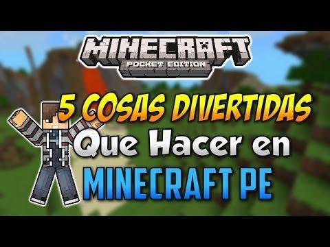 5 Cosas Divertidas Que Hacer En Minecraft Pocket Edition