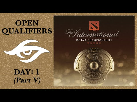 Dota 2 | Road to The International | Open Qualifiers: Day 1 - Part V