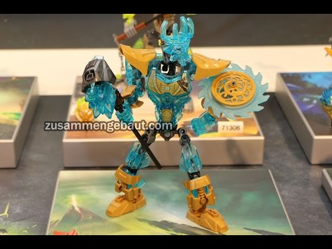 LEGO Bionicle: New summer 2016 sets on display!