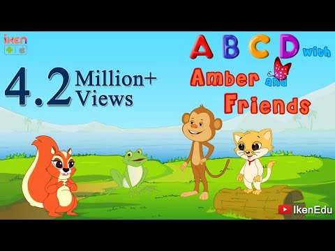 Learn ABCD while singing ABCD songs and Nursery Rhymes