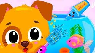 Fun Baby Pet Care Kids Game - Cute & Tiny Pets Superhero Baby Games - Fun Pet Care Kids Cartoon Game