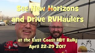 We Invite you to See and Tour Custom 5th Wheel RVS by New Horizons and RVHaulers
