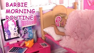 Barbie Bedroom Morning Routine ♥︎ Breakfast, Clothes, Barbie Dresses