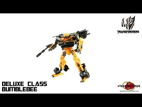 Video Review Of The Transformers Age Of Extinction: Deluxe Class Bumblebee video